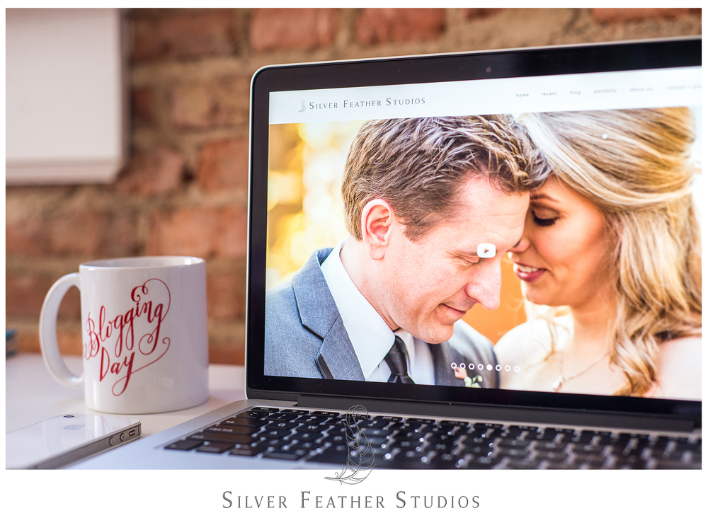 New blog update for greensboro wedding videographer, silver feather studios.