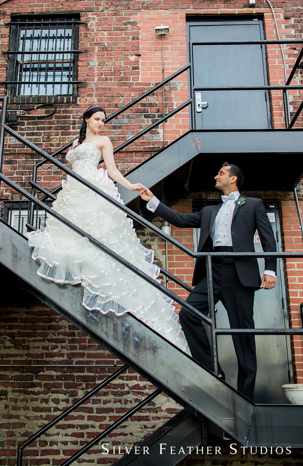 Madison & Harsh's Empire Room Wedding by wedding photographer in Greensboro.
