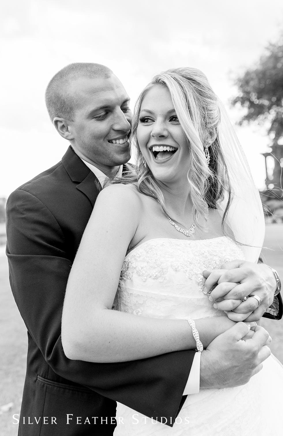 Megan and Jay's River landing wedding by Burlington wedding photographer.