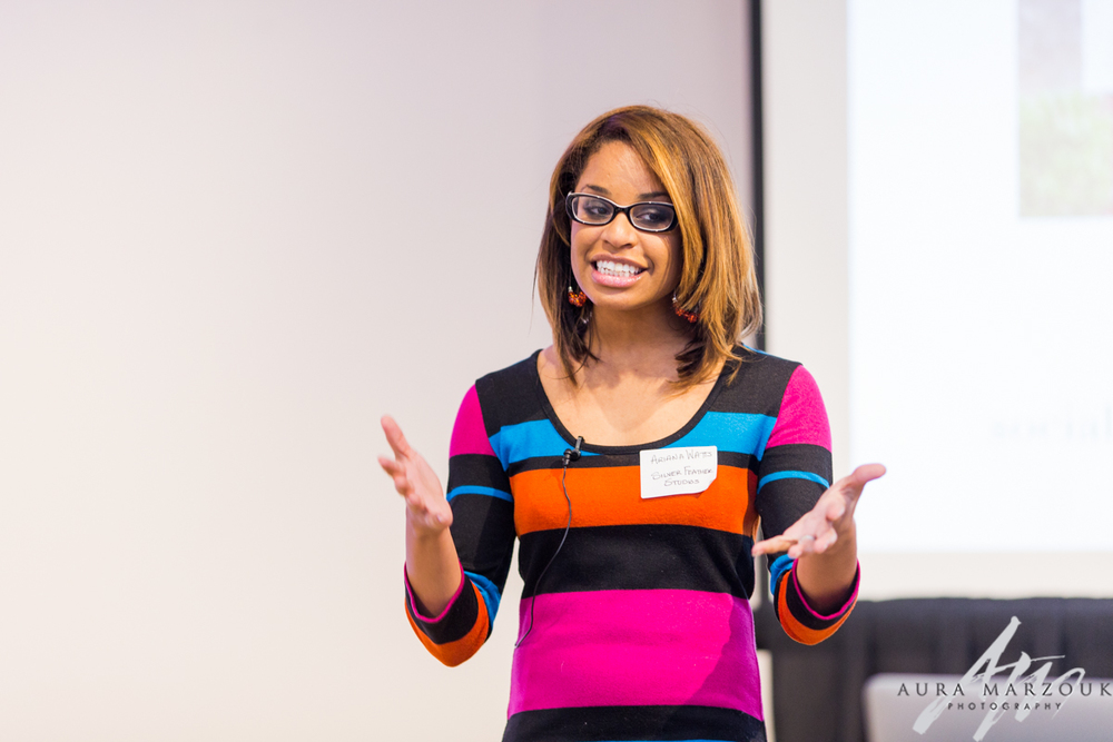 Social media and branding seminar at Villa de L'Amour by Ariana Watts of Silver Feather Studios