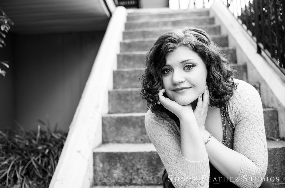 senior photography by Silver Feather Studios in Burlington, NC