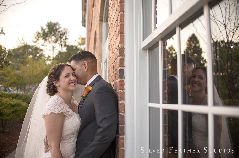 emily and daniel's belt line station wedding by durham, nc wedding photographer.