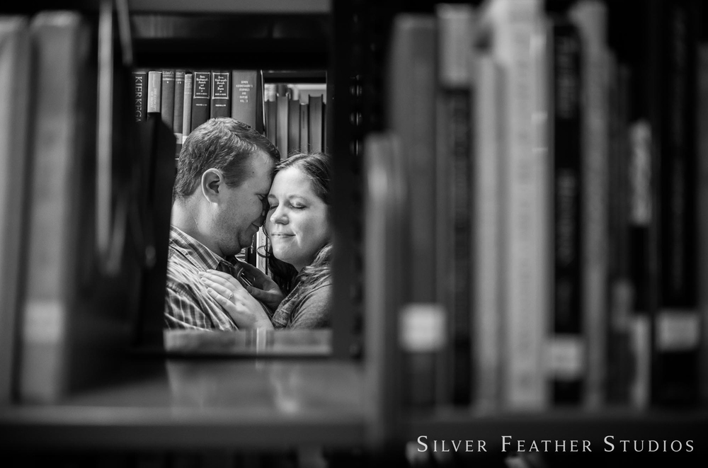 Elon University engagement session by Silver Feather Studios