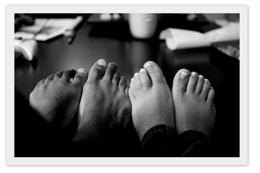 Feet - Burlington NC Wedding Photographer