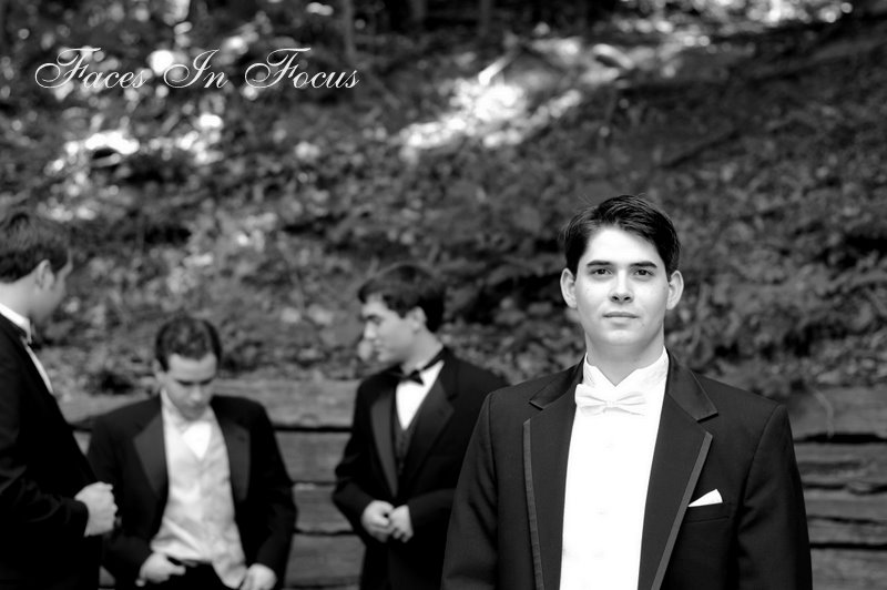Greensboro Groom with Groomsmen