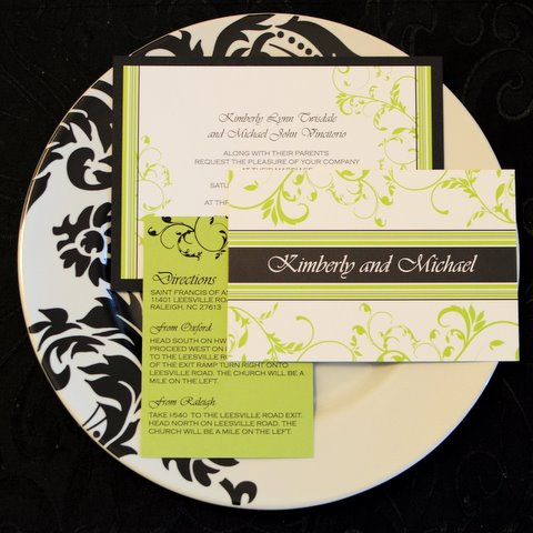 Invitations - Raleigh Wedding Photographer