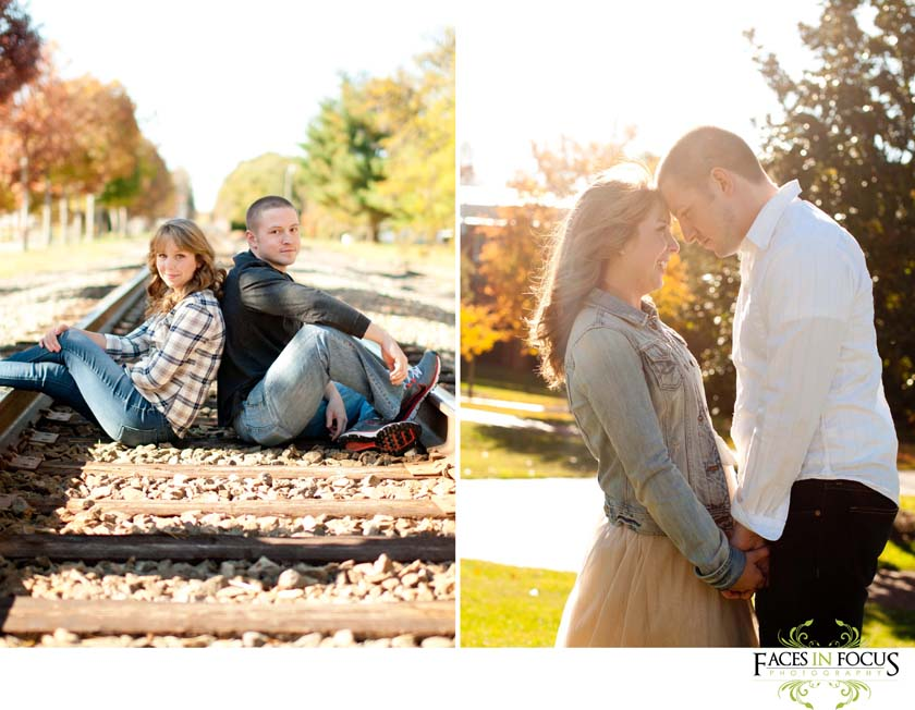 Elon University Engagement Photography