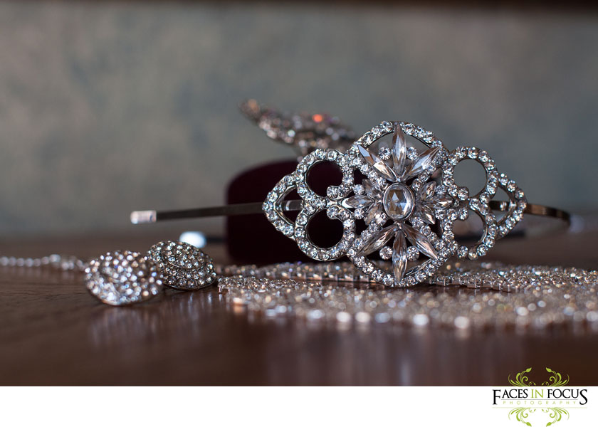 bride's details, sparkly rhinestones; kingdom hall wedding, jehovah's witnesses. photography by durham wedding photographer, silver feather studios.