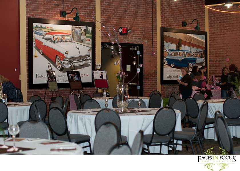 Stunning decor at Vintage Motor Club in Concord