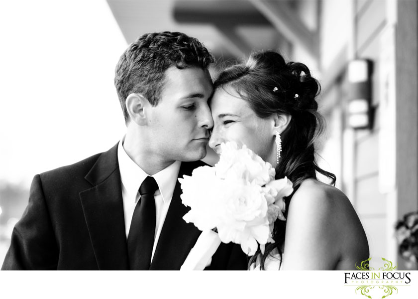 Bride and groom do farewell at The Palladium in Burlington, North Carolina