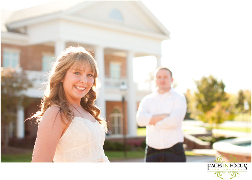 Fun couple photographed by Gibsonville Wedding Photographer & Video