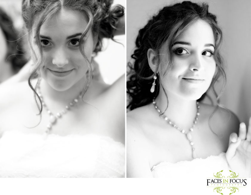 Light brightens the face of the amazing Lebanon bride.