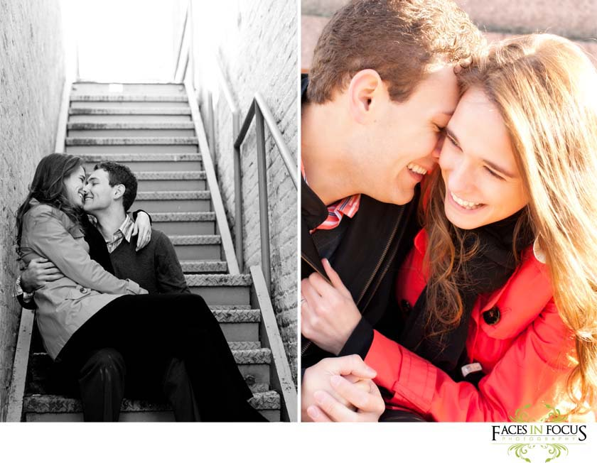 Gorgeous couples model at UNC Chapel Hill.