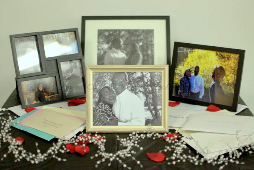 Photo Display - Burlington NC Wedding Photographer