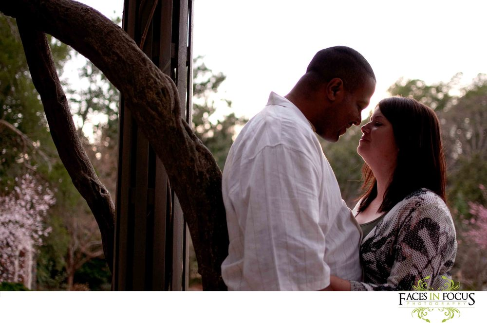 Duke Gardens Engagement Photography