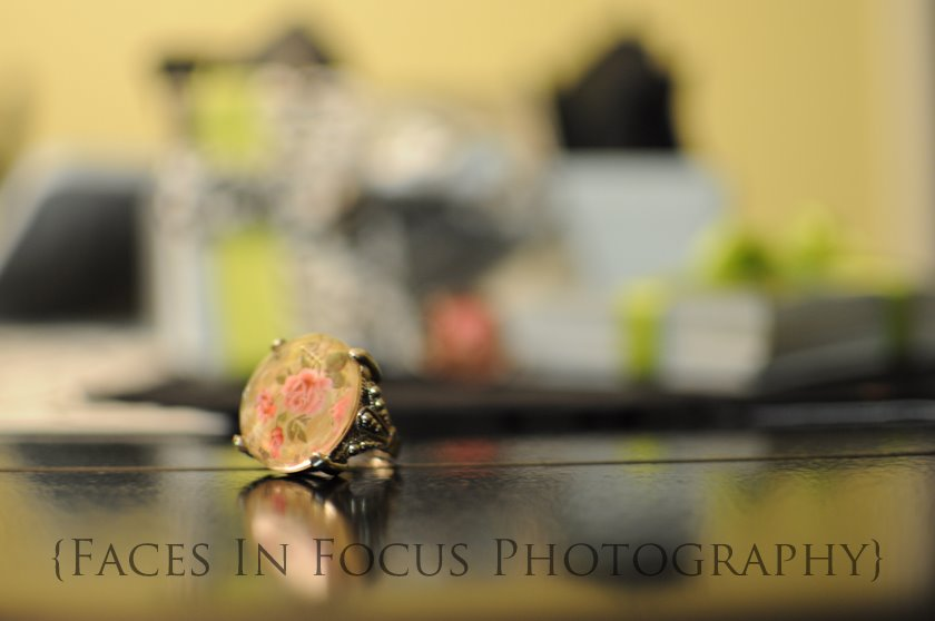Antique rings given as gift from Faces In Focus Photography