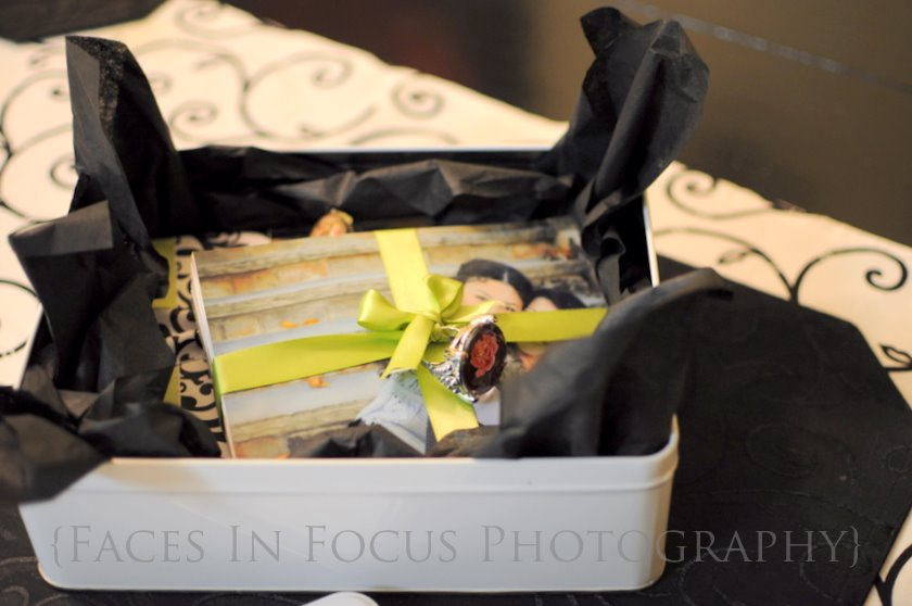 Packaging supplies from Michaels and put together by North Carolina Photographer