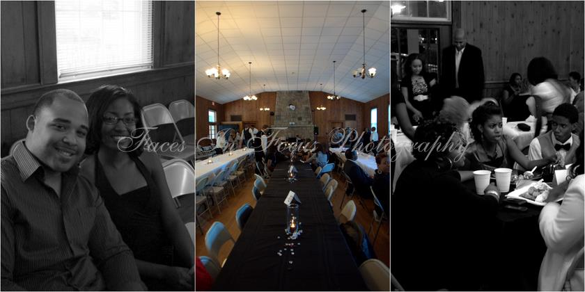 Collage of photos from a graduation party taken by Burlington Wedding Photographer.