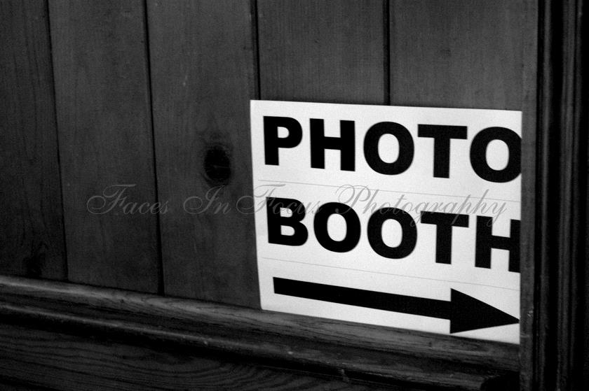 Photo Booth - Burlington NC Wedding Photographer