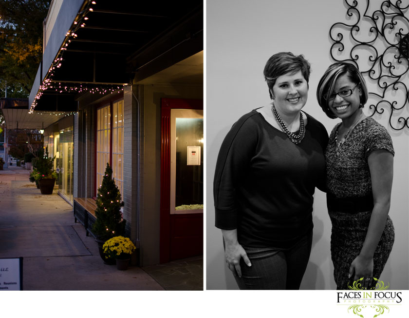 Julie Poole of Juliepatoolies poses with Burlington NC Wedding Photographer.