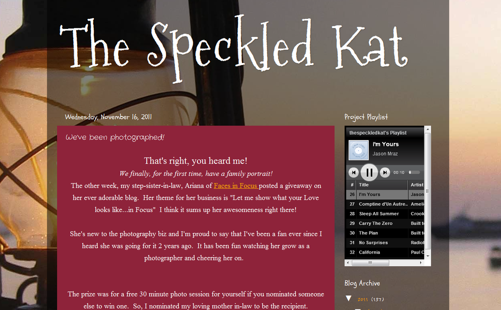 Speckled Kat feature Durham Wedding Photographer