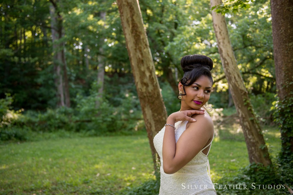 Kayla's Eno River senior session by Durham wedding photographer, Silver Feather Studios