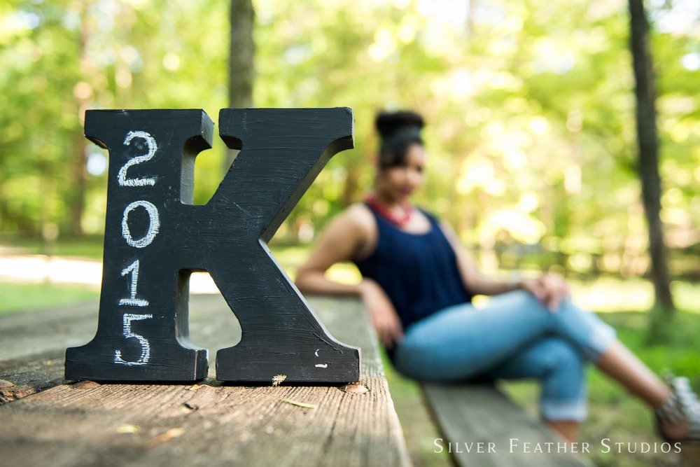 Kayla's 2015 senior session at West Point on the Eno by Silver Feather Studios, a Durham wedding photographer.