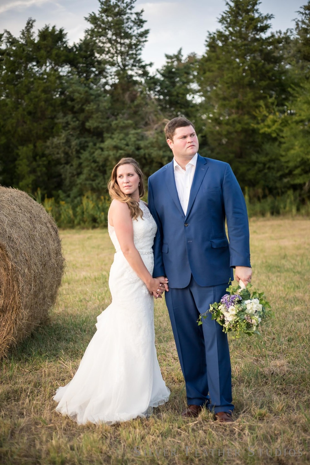 david and erin at their wedding at Seven Cedars Farm. Photography by Burlington wedding photographer, Silver Feather Studios