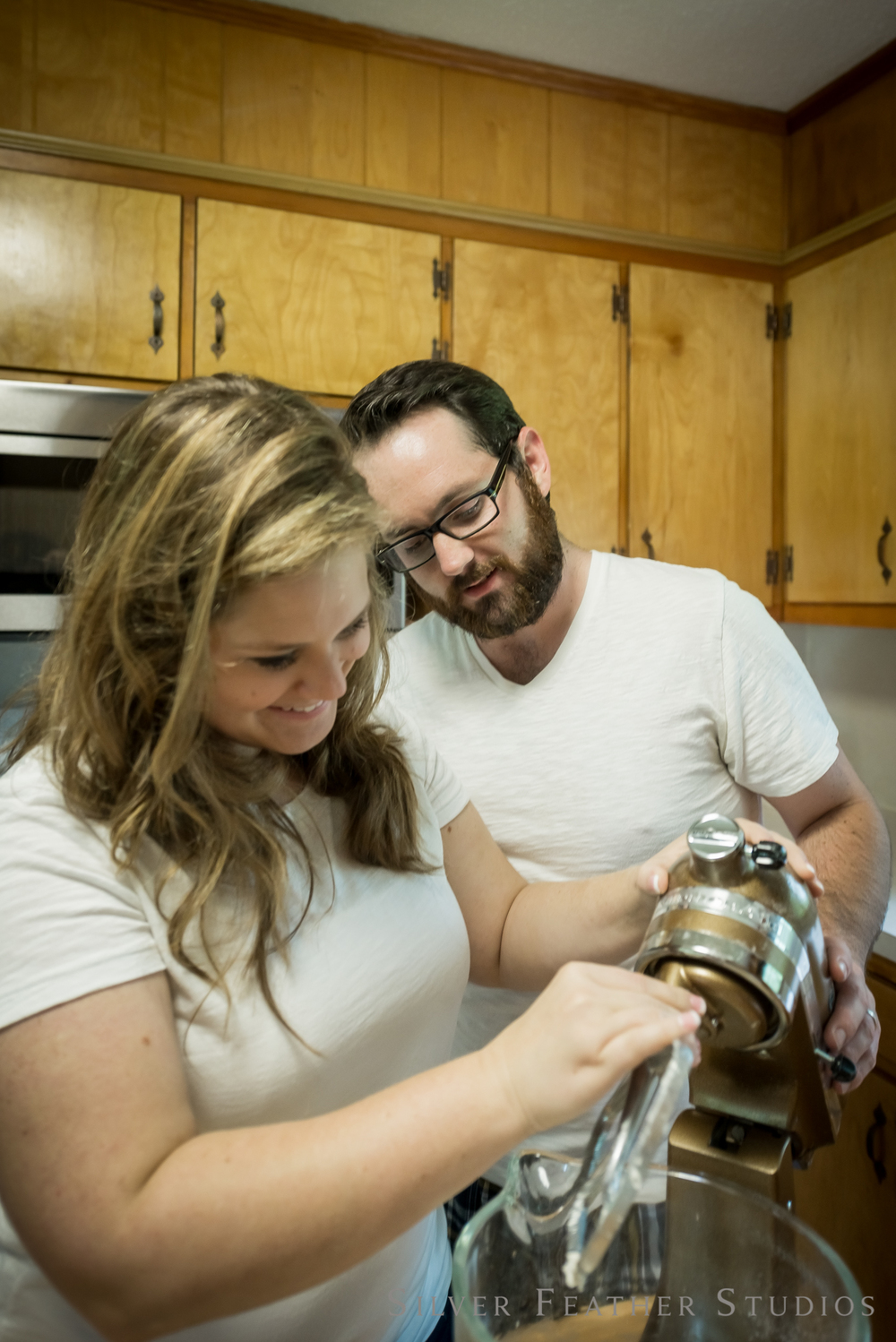 making donuts at home | heather and jordan's one year anniversary © silver feather studios | burlington lifestyle photography