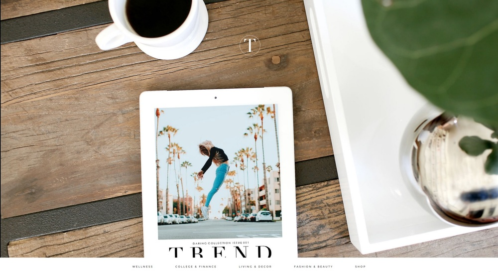 Trend Magazine, for youtubers, bloggers, and creatives.