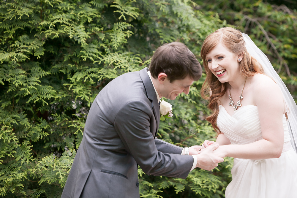 Garden at Grey Gables wedding in Summerfield, NC