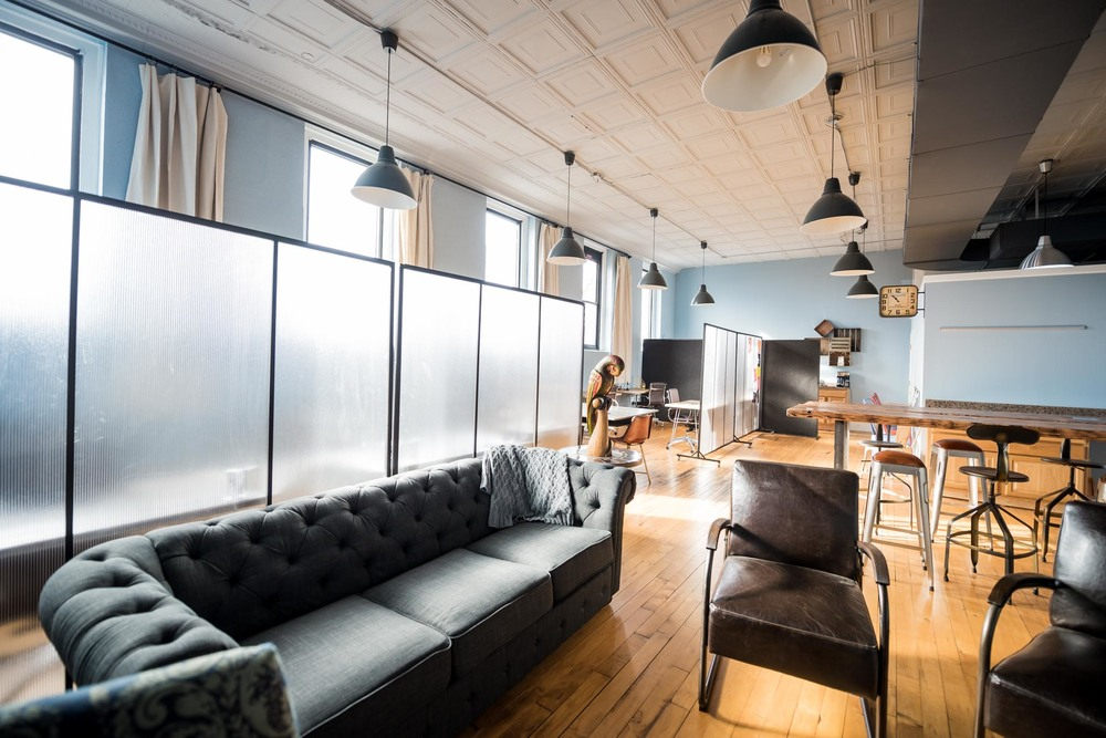 The CoOperative, creative and collaborative coworking space in Graham, NC