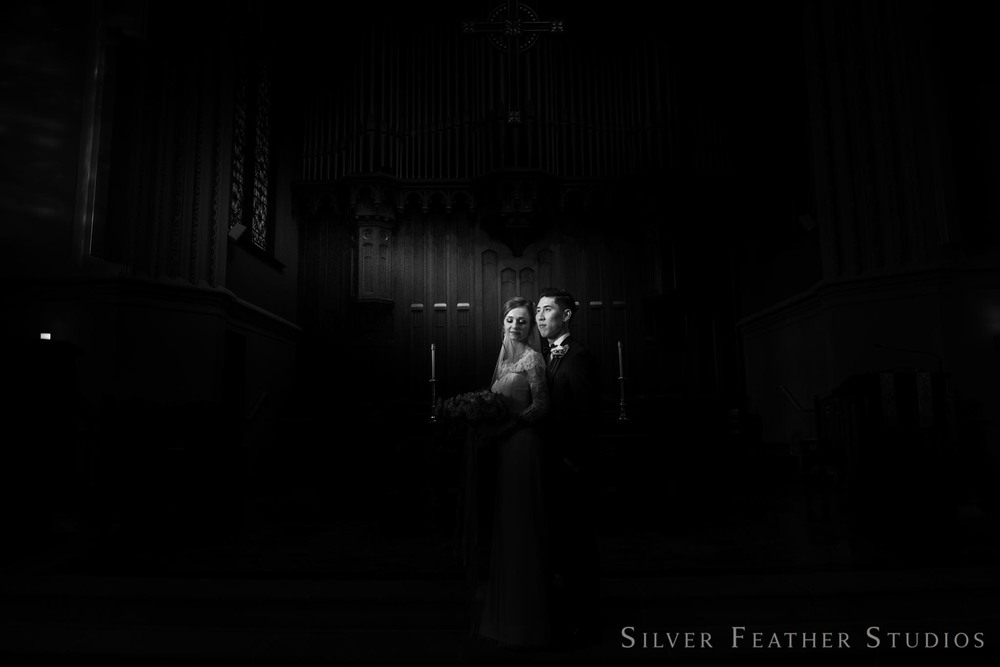 fun and creative wedding photography in durham NC by silver feather studios