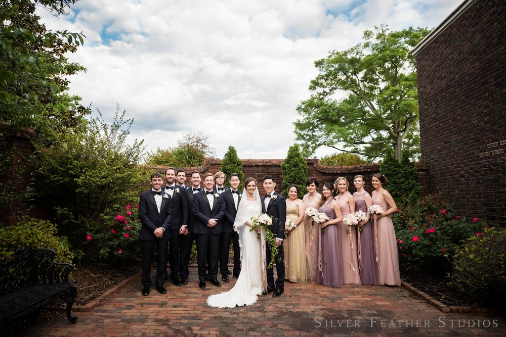 durham wedding photography at first presbyterian church. © Silver Feather studios