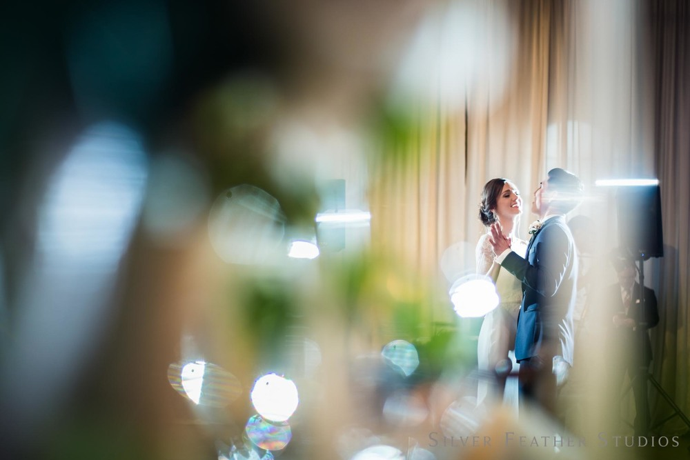 first dance at the cotton room between Anna & Jeremy to Taylor Swift. © burlington wedding photographer