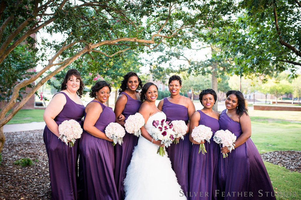 purple and gray wedding at Regency Banquet Hall by Dunn Wedding Photographer, Silver Feather Studios