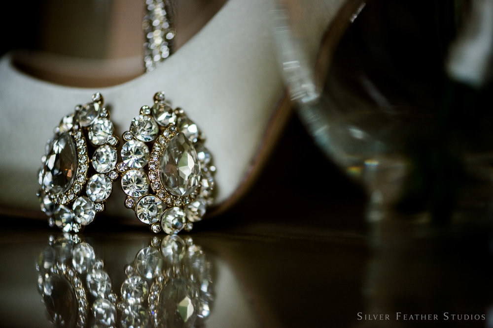 macro photography of jewelry by silver feather studios