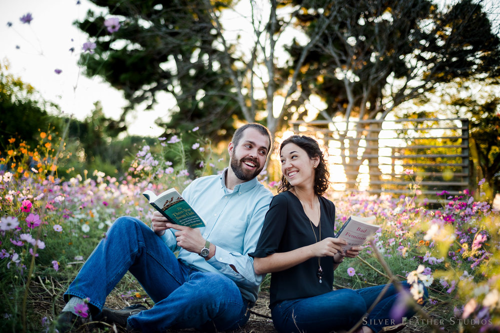 Kathleen & Matt's JC Raulston Engagement session by Silver Feather Studios