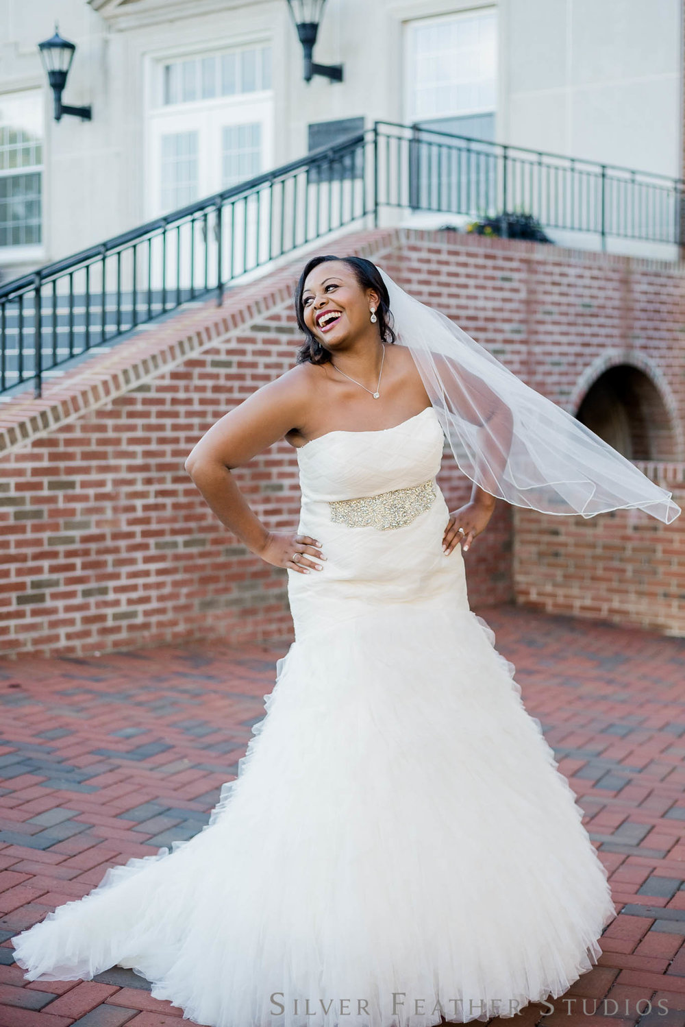 Bridal session by Silver Feather Studios at Butler Chapel.