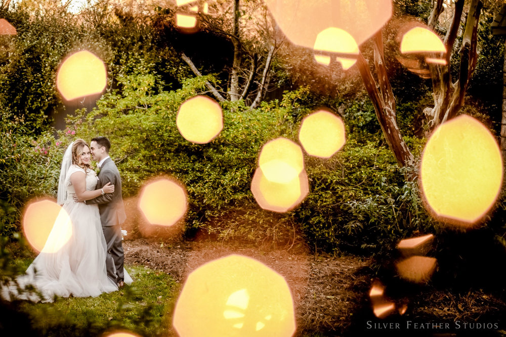Jasmin & Dylan's fairytale wedding at Barclay Villa. Photography by Silver Feather Studios.