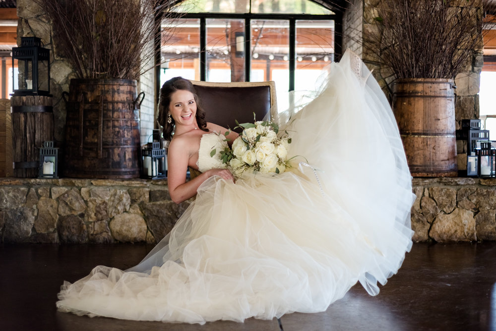 Pavilions at Angus Barn bridal session by Raleigh wedding photographer, Ariana Watts