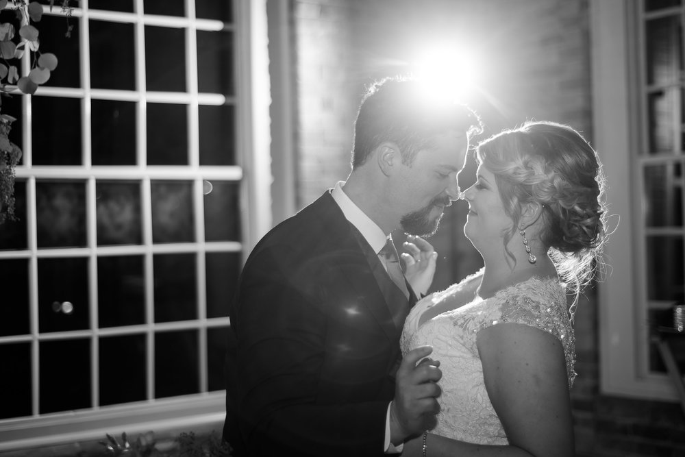 Fall wedding at the Cotton Room by Durham wedding photographer, Ariana Watts