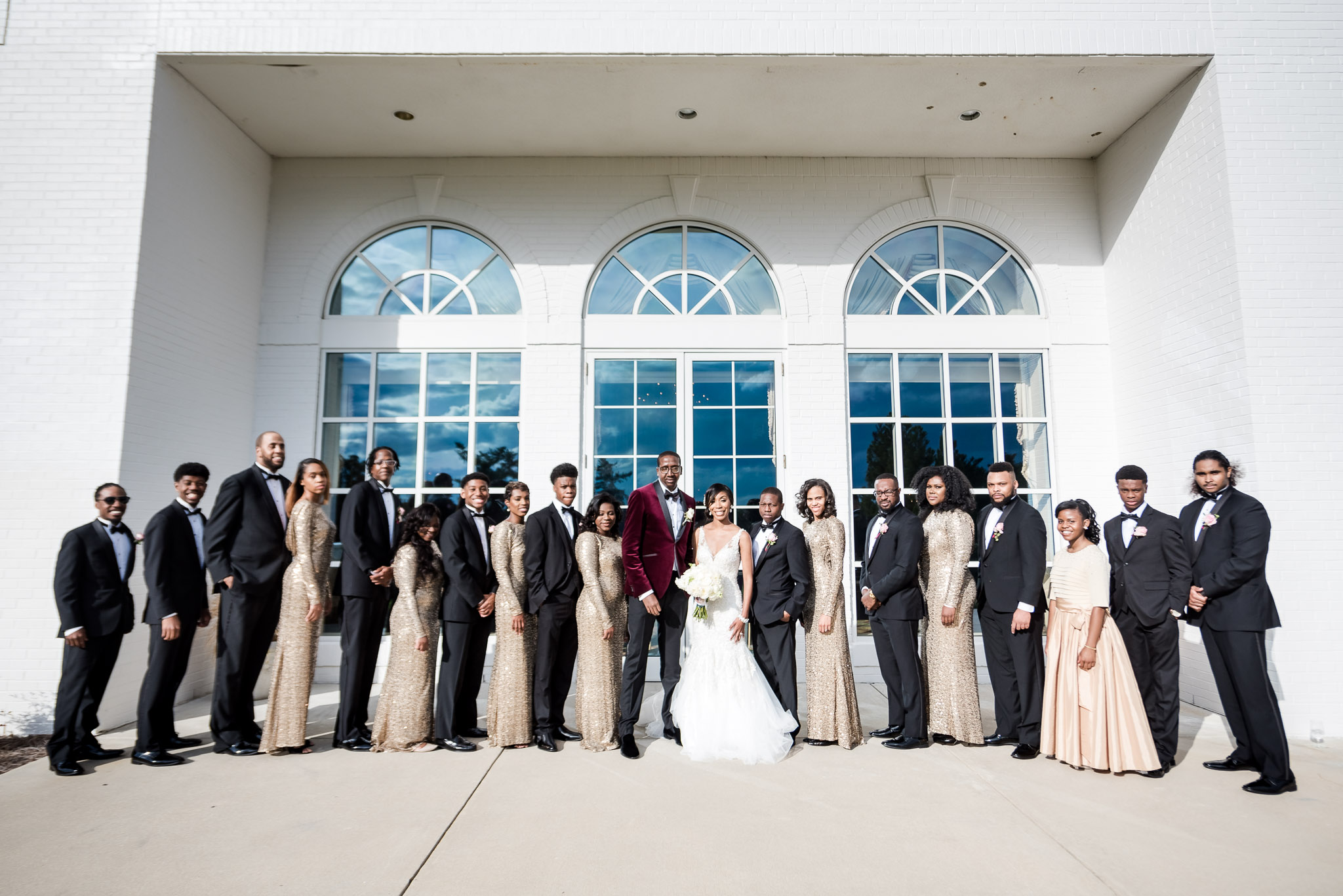 High Point Country Club Wedding | Leah + Jerome — Spontaneous North ...