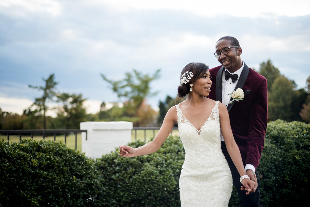 High Point Country Club wedding photography by Silver Feather Studios