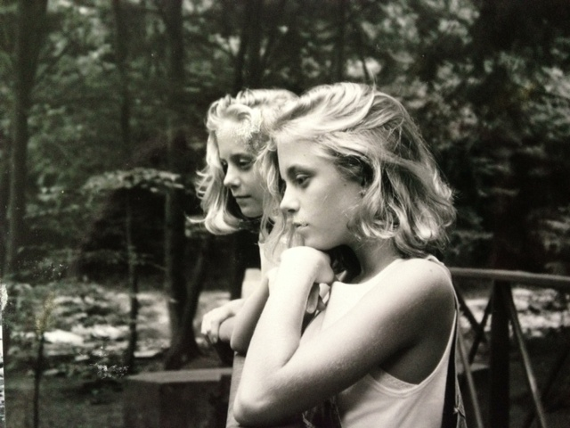 one of my first photo shoots ever.  these are my baby sisters