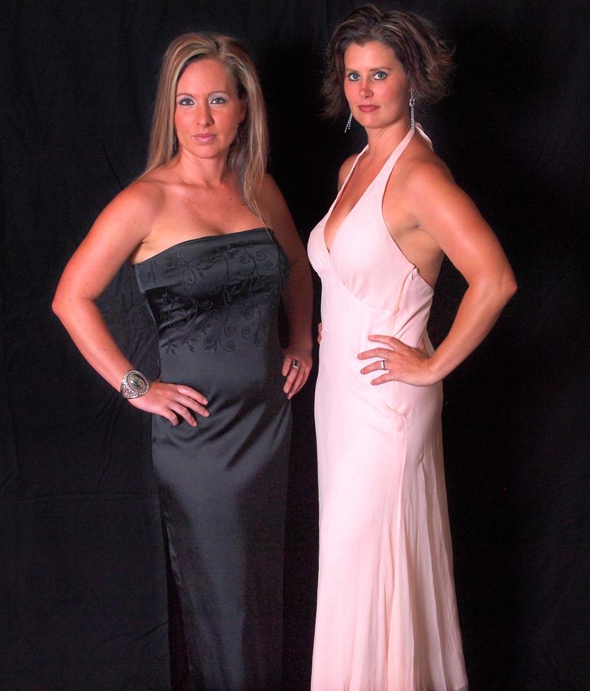 Two Fancy Dames