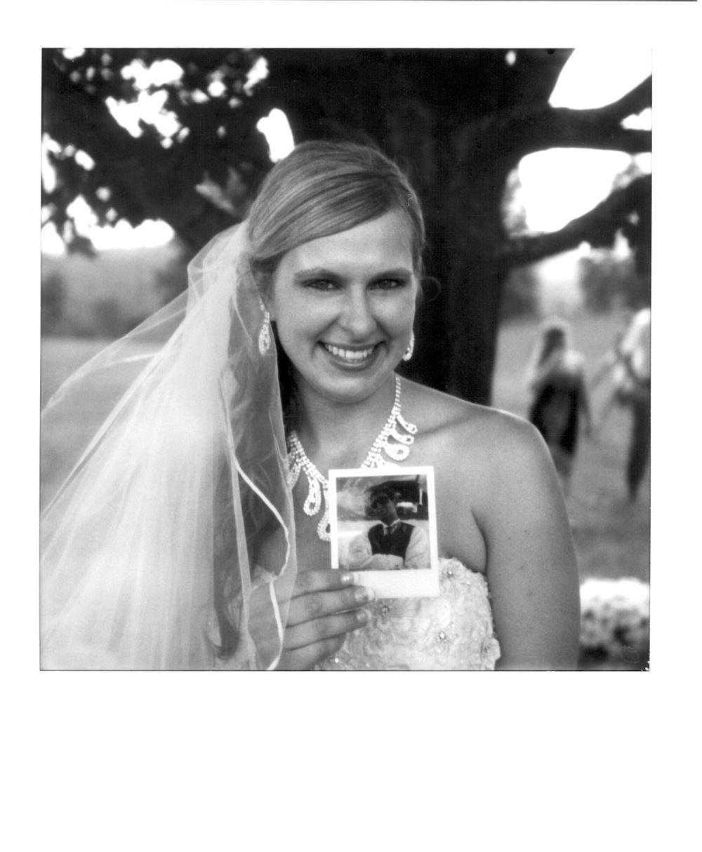 Amy and her Polaroid