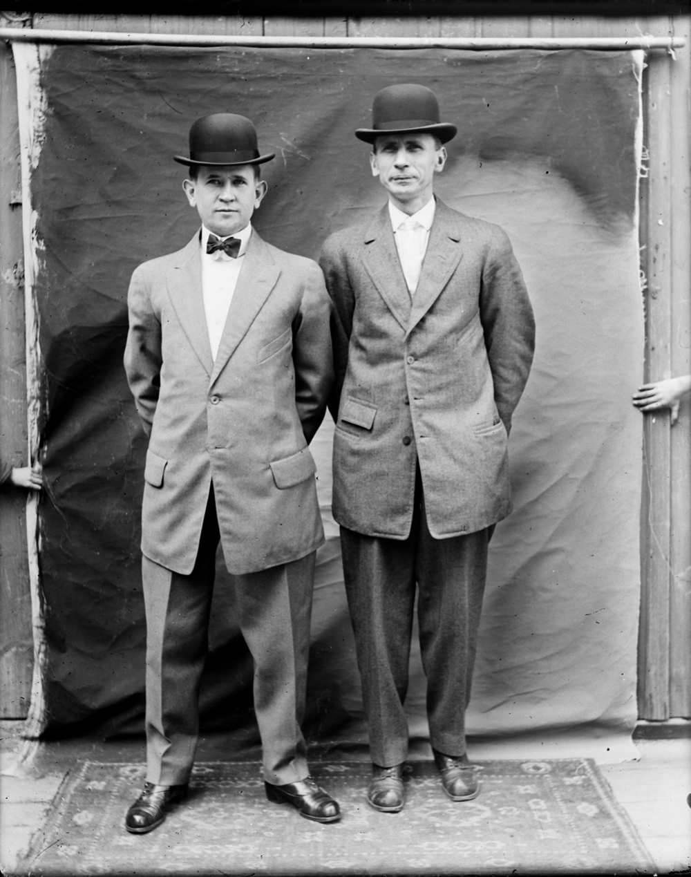 Dapper Gents, circa 1915.