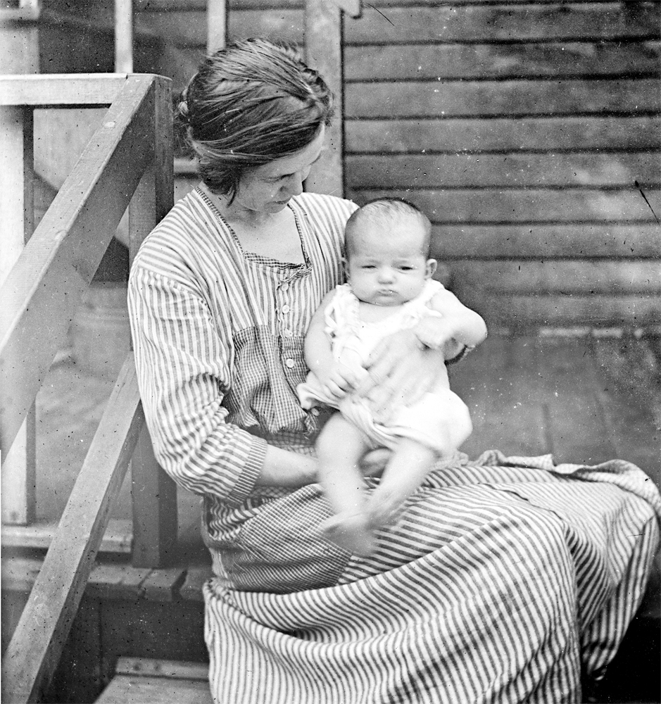 Mom and Son(?) circa 1915