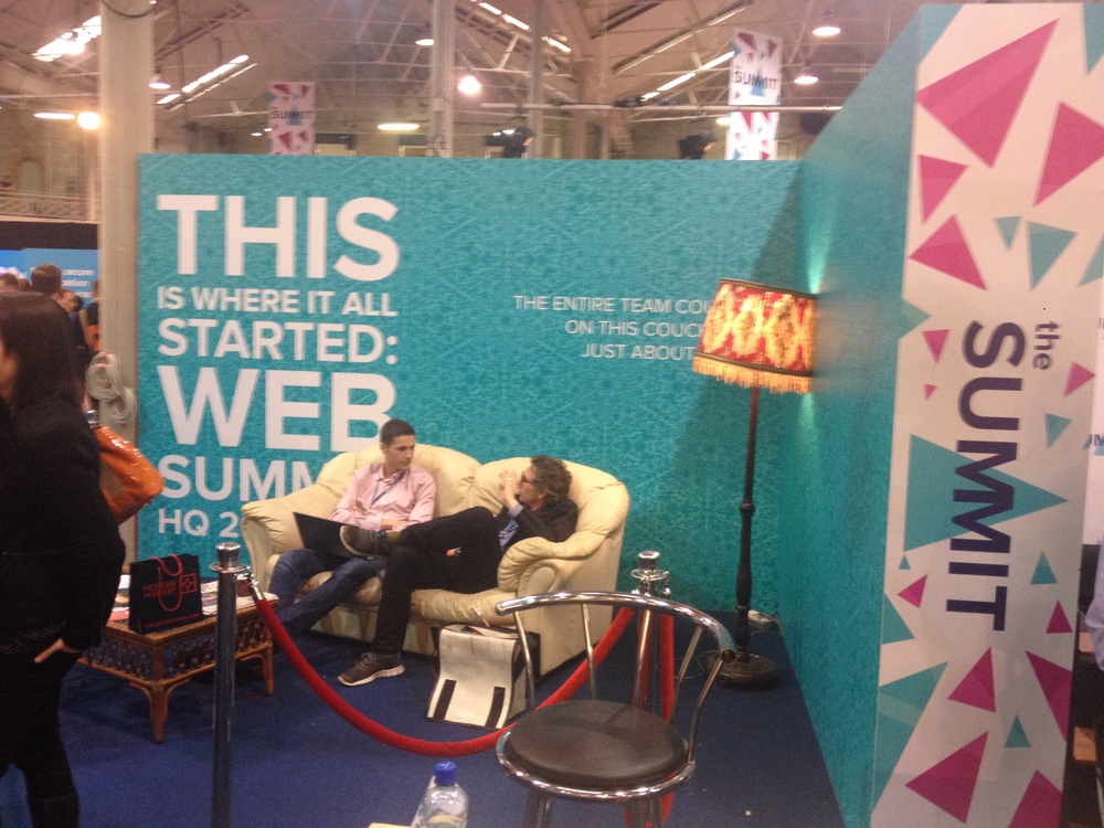 Websummit    in Dublin 30-31 October 2013